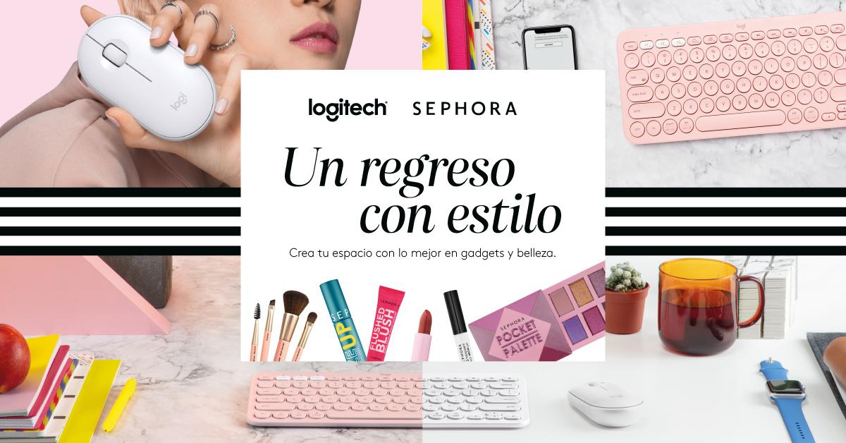 #UnRegresoConEstilo con Logitech y Sephora